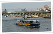 Sumida River and Suijo-Bus