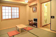 Japanese 6 Tatami Room with private bathroom and toilet