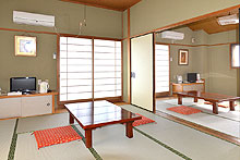 Japanese 8 Tatami Room 2 rooms, with private bathroom and toilet